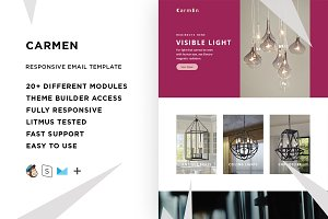 Carmen – Email template + Builder