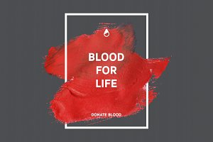 Blood donation 15 posters