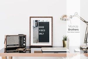 office frame mockup