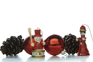 Christmas decoration pine Snowman
