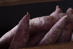 Purple sweet potato box