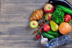 Food Background. Healthy food