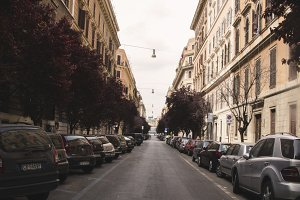 Lovely street in Rome