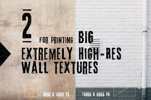Extremely High Res Wall Textures
