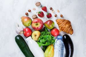 Food Background. Healthy food