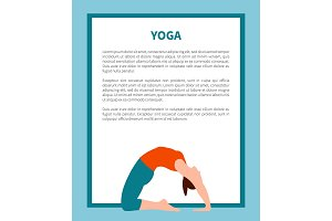 Yoga and Informational Text Vector