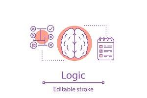 Logic concept icon