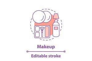 Makeup concept icon