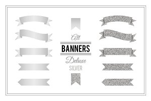 Banners Deluxe - Silver