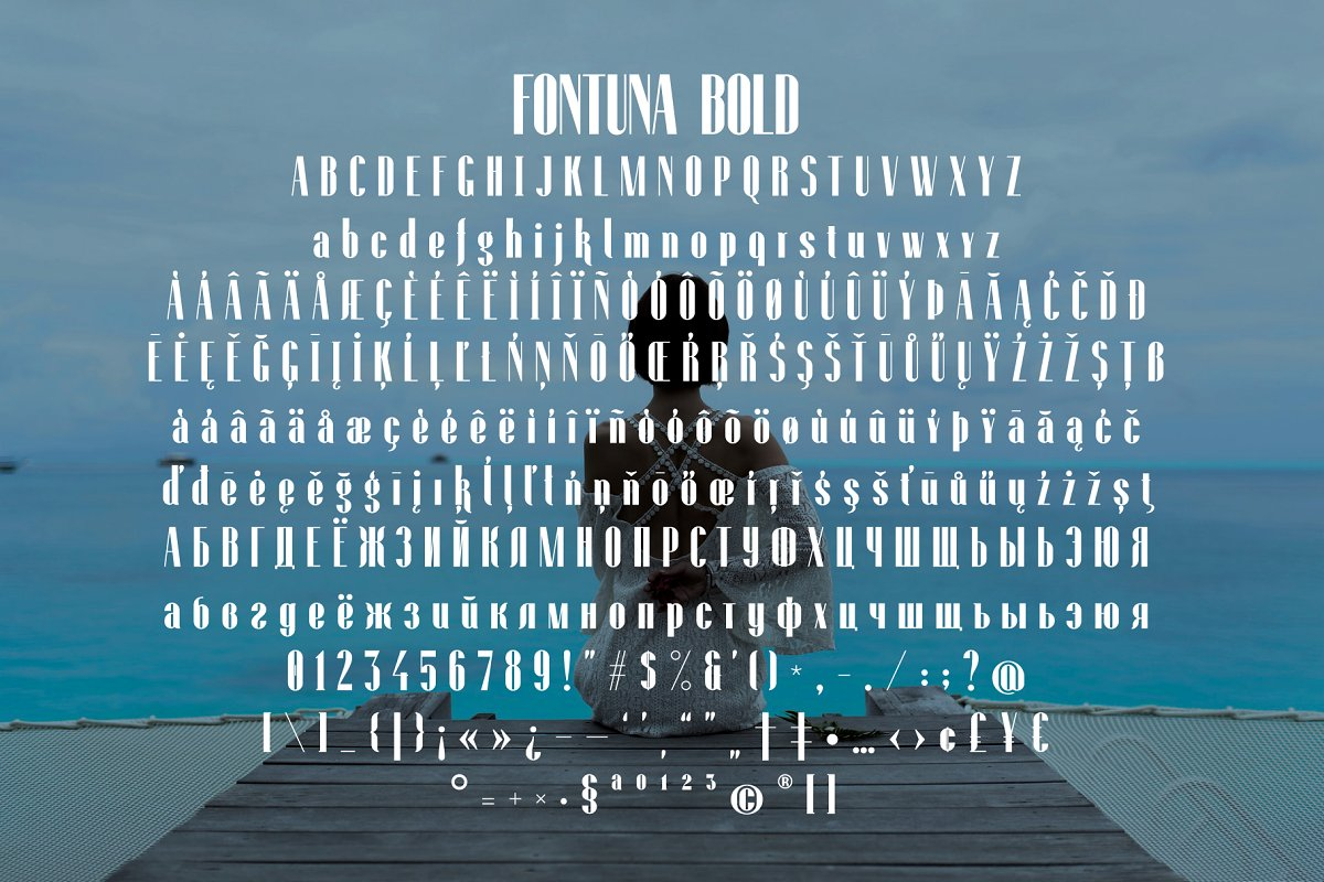 Fontuna Bold in Bold Fonts - product preview 3