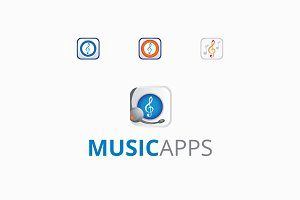 Music Apps Logo