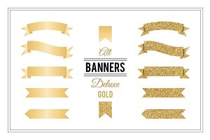 Banners Deluxe - Gold