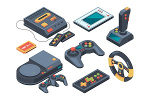 Video game console and different