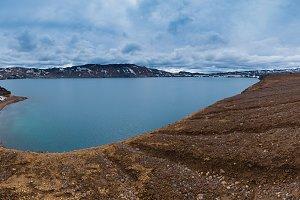 Oskjuvatn blue lake