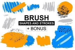 Brush shapes & strokes