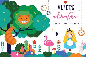 Alice in the wonderland collection