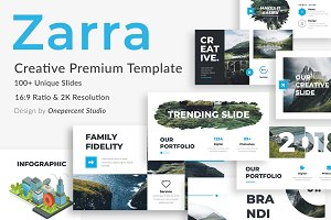 Zarra Creative Keynote Template
