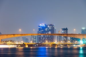 River Bridge in Bangkok