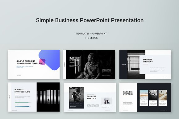 Simple business powerpoint template presentation templates simple business powerpoint template presentations wajeb Gallery