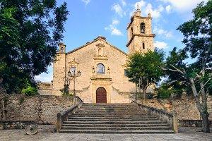 Church of Rocamador in Valencia de A