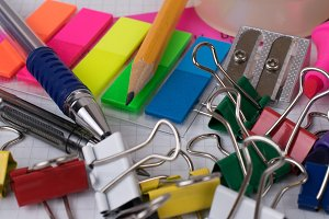 Office tools and stationery