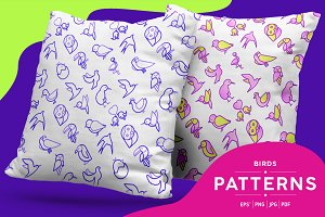 Birds Patterns Collection