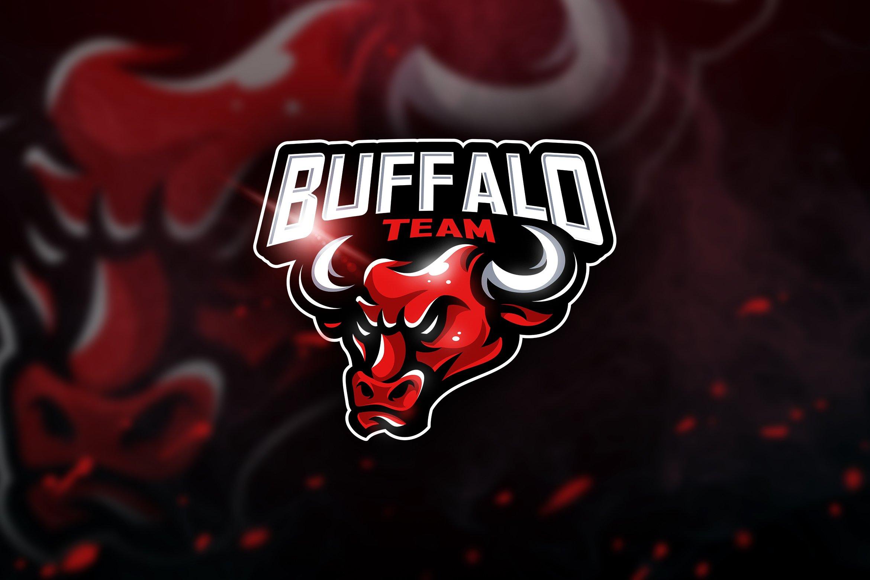 Buffalo Team - Mascot & Esport Logo   Creative Illustrator ...