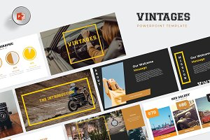 Vintages Powerpoint - Template