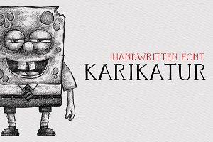 Karikatur - Handwritten Font