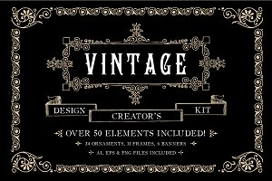 Vintage Ornament Design Creators Kit