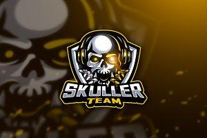 Skuller Team - Mascot & Esport Logo
