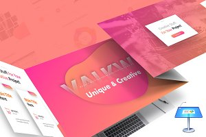 Valkwe Creative - Keynote Template