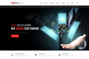 Freelance Business - PSD Template
