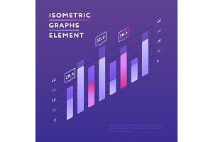 Vivid design of isometric chart