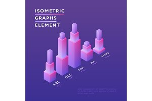 Stylish design of isometric graphs