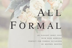 All Formal by Kestrel Montes