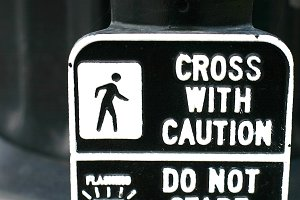 Cross with Caution