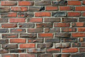 Black and Red Brick background
