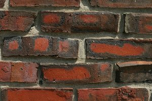 Close Up Brick Texture