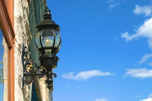 Old-fashioned Street Lamp