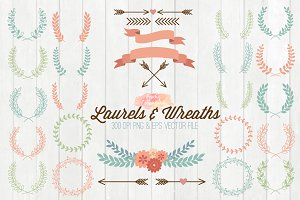 Laurels and Wreaths