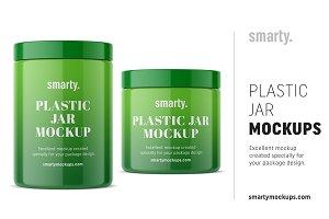 Universal Jar Mockup