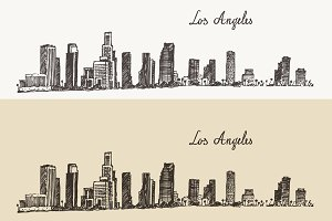 Los Angeles (California) skyline