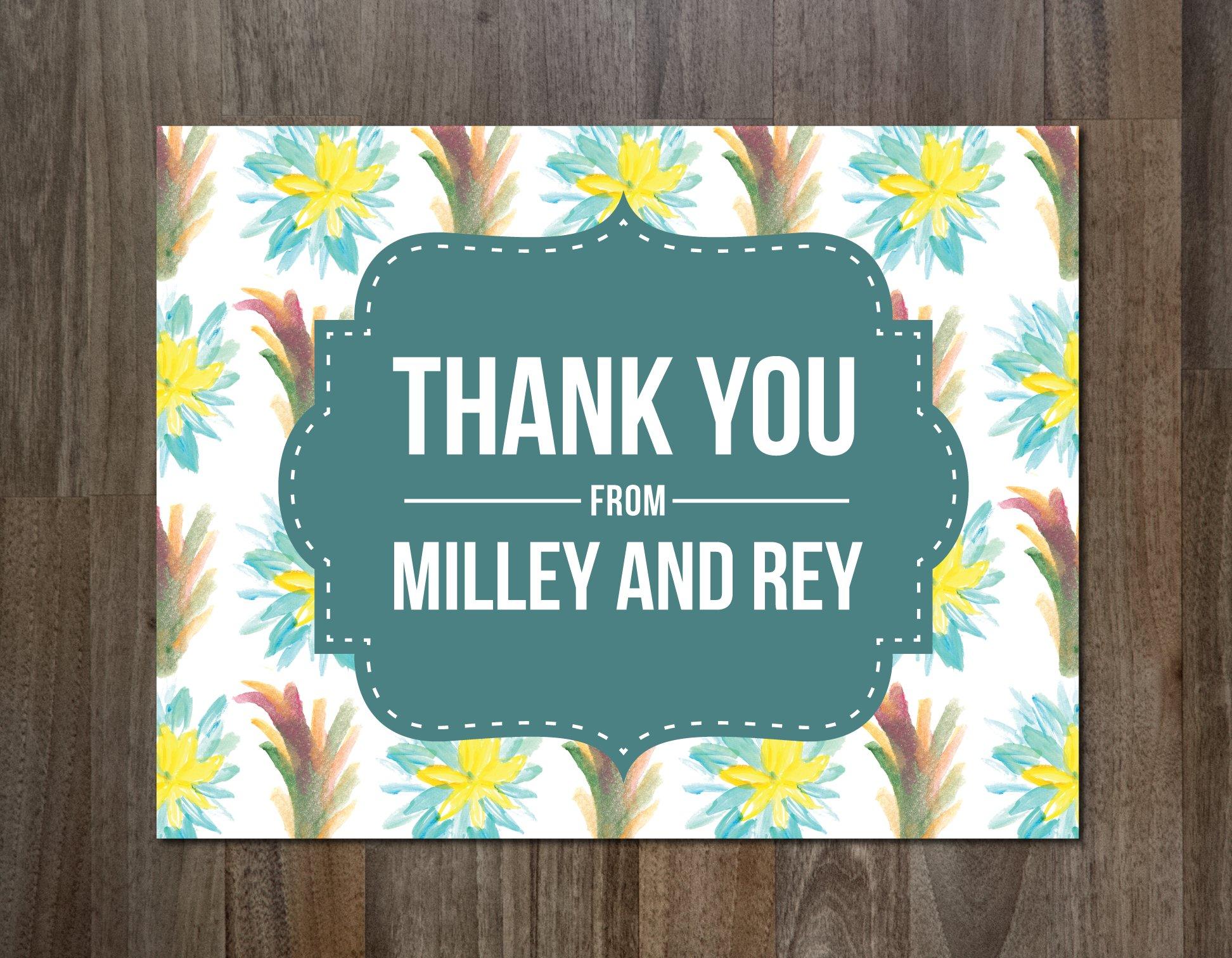 thank you card card templates creative market