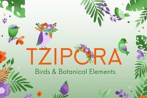 Birds + Botanics Collection