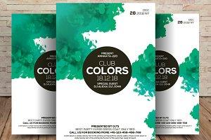 Club Colors Flyer