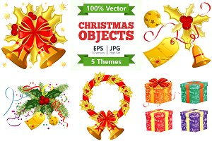 Christmas Objects Themes