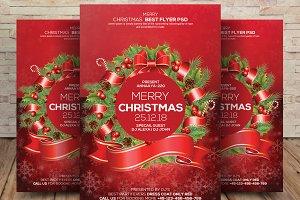 Merry Christmas Celebration Flyer