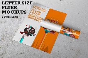 Flyer Mockups US Letter Size