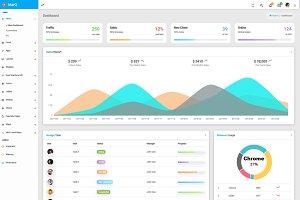 MarQ - Bootstrap 4 & Angular 6 Admin